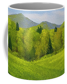 Rolling Spring Pastures  Coffee Mug by Frank Wilson