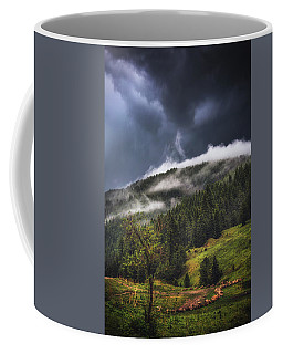 Rolling Through The Trees Coffee Mug