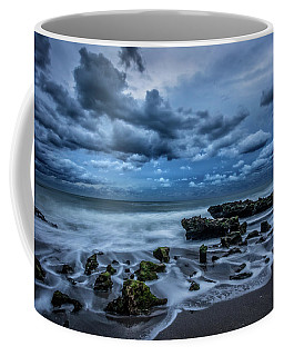 Coffee Mug featuring the photograph Rolling Thunder by Debra and Dave Vanderlaan