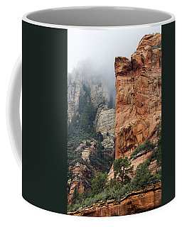 Coffee Mug featuring the photograph Rollings Mists by Phyllis Denton
