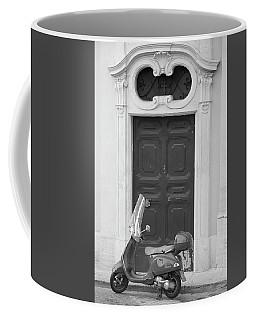 Roma Vespa And Door  Coffee Mug