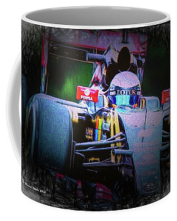 Romain Grosjean 2015 Coffee Mug