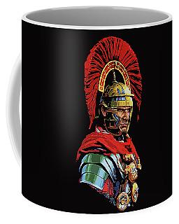 Roman Centurion Portrait Coffee Mug