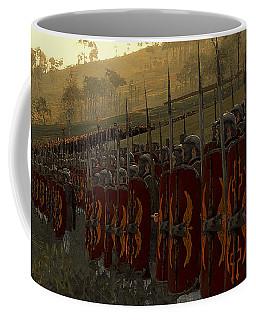 Roman Legion In Battle - Ancient Warfare Coffee Mug
