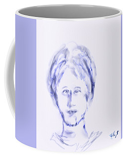 Coffee Mug featuring the digital art Confused by Frank Bright