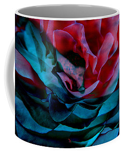 Romance - Abstract Art Coffee Mug by Jaison Cianelli