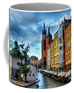 Romance In Krakow Coffee Mug by Kasia Bitner