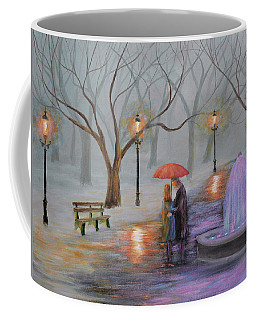 Romance In The Park Coffee Mug