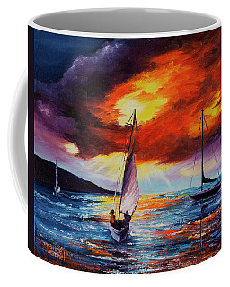 Romancing The Sail Coffee Mug