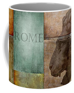 Coffee Mug featuring the digital art Romanesque by Patricia Strand