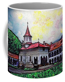 Romanian Monastery Coffee Mug