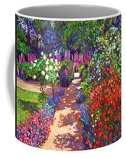 Romantic Garden Walk Coffee Mug