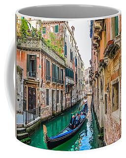 Romantic Gondola Scene On Canal In Venice Coffee Mug