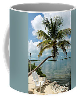 Romantic Lovers Bench Coffee Mug