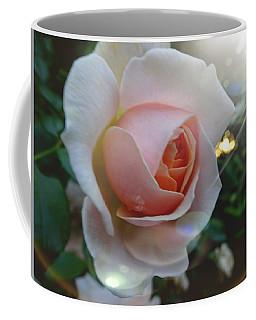 Romantic Pastel Pink Rose Coffee Mug