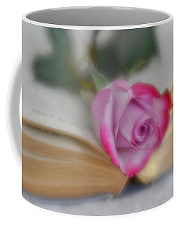 Coffee Mug featuring the photograph Romantic Read by Diane Alexander