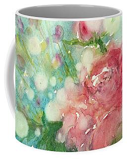 romantic Rose Coffee Mug by Judith Levins