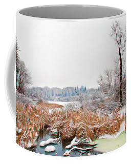 Coffee Mug featuring the photograph Romantic Skies Winters Glory by Aimee L Maher Photography and Art Visit ALMGallerydotcom