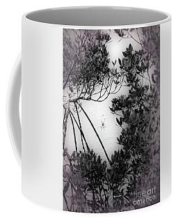 Coffee Mug featuring the photograph Romantic Spider by Megan Dirsa-DuBois