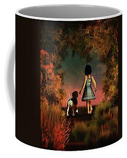 Romantic Walk In The Woods Coffee Mug