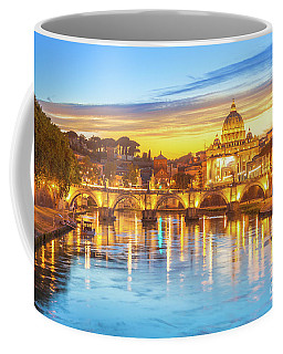 Rome At Twilight Coffee Mug