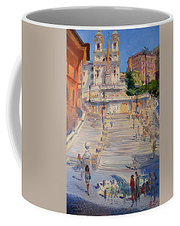 Rome Piazza Di Spagna Coffee Mug
