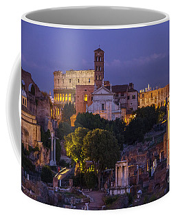 Coffee Mug featuring the photograph Rome by Spencer Baugh