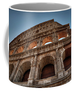 Coffee Mug featuring the photograph Rome - The Colosseum 003 by Lance Vaughn
