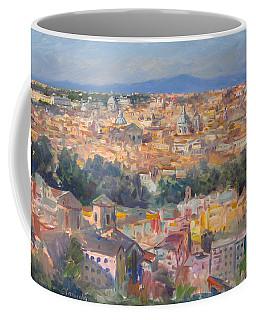 Rome View From Gianicolo Coffee Mug