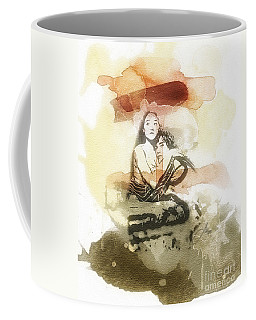 Romeo And Juliet Coffee Mug by Mo T