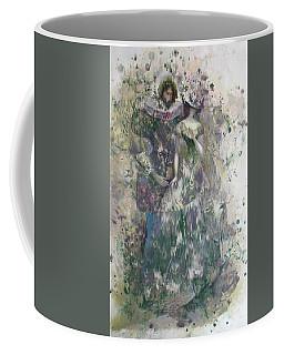 Romeo And Juliet. Monotype Coffee Mug