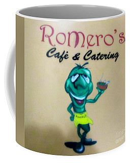 Romero's Chile Man Coffee Mug