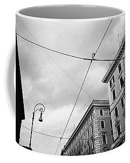 Rome's Downtown Cable Sky Coffee Mug