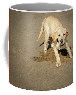 Romping Puppy Coffee Mug
