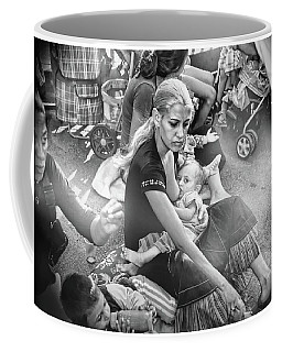 Roms De France 1,black And White  Coffee Mug
