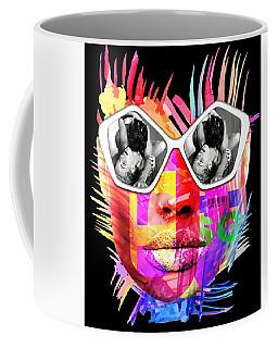 Romy Black Coffee Mug