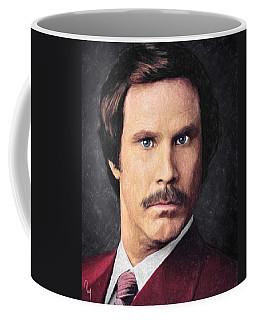 Ron Burgundy Coffee Mug