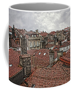 Roofs Over Santiago Coffee Mug by Angel Jesus De la Fuente