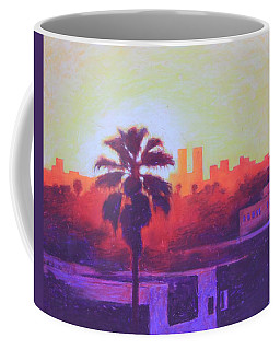 Rooftop Glow Coffee Mug by Andrew Danielsen