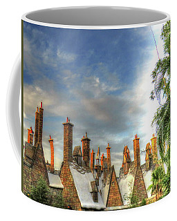 Coffee Mug featuring the photograph rooftops Hogsmeade by Tom Prendergast