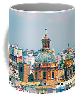 Coffee Mug featuring the photograph Rooftops Of Seville - 1 by Mary Machare