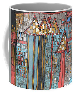 Dilapidated World Coffee Mug by Sandra Church