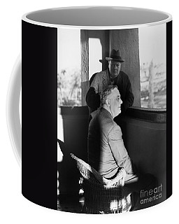 Roosevelt And Churchill Coffee Mug by Granger