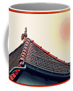 Rooster On The Roof Coffee Mug