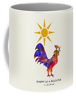 Rooster Pattern Art Coffee Mug