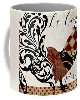 Roosters Of Paris II Coffee Mug