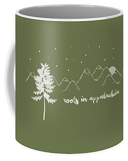 Roots In Appalachia Coffee Mug by Heather Applegate