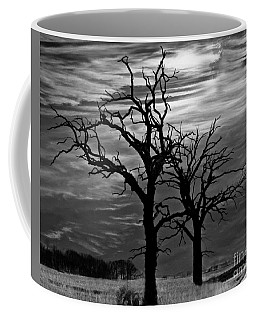 Roots In Black And White Coffee Mug by Kathy M Krause