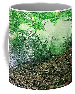 Roots On The River Coffee Mug by Rachel Hannah