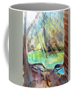 Rope Swing Coffee Mug